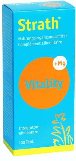 STRATH VITALITY 100 COMPRESSE - Farmacia Giotti