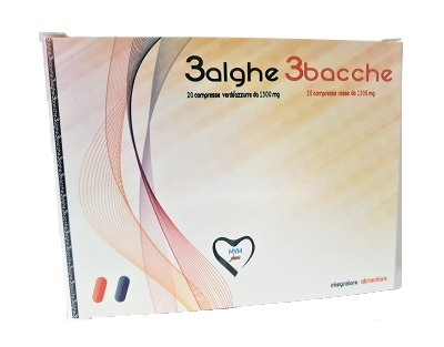 3 ALGHE 3 BACCHE 40 COMPRESSE - Farmaseller
