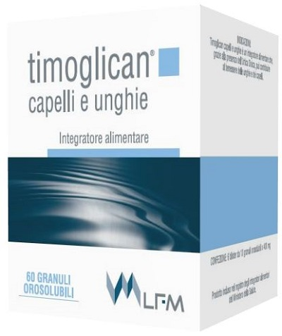 TIMOGLICAN CAPELLI E UNGHIE 60 GRANULI 24 G - FARMAPRIME