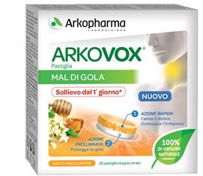 ARKOVOX PASTIGLIE MIELE/LIMONE 20 PASTIGLIE - Farmacia Centrale Dr. Monteleone Adriano