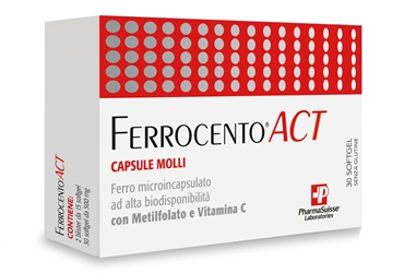 FERROCENTO ACT 30 CAPSULE MOLLI - Farmabellezza.it