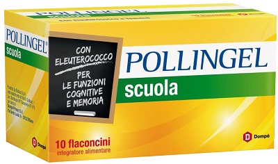 POLLINGEL SCUOLA 10 FLACONCINI DA 10 ML - farmaventura.it