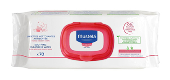 MUSTELA SALVIETTE DETERGENTE LENITIVO 70 PEZZI - Farmafamily.it