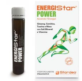 ENERGISTAR POWER 6 FLACONCINI - Farmacia Bisbano