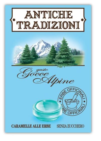 ANTICHE TRADIZIONI GOCCE ALPINE CARAMELLE 20 PEZZI - FARMAPRIME