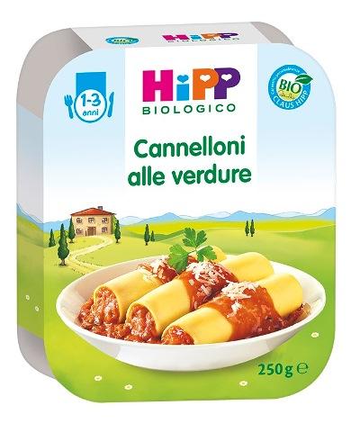 HIPP BIO CANNELLONI ALLE VERDURE 250 G - Farmabellezza.it