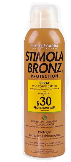 STIMOLABRONZ PROTECTION SPF 30 SPRAY 150 ML - farmaciadeglispeziali.it