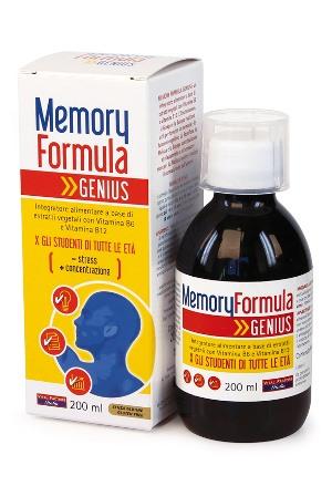 MEMORY FORMULA GENIUS 200 ML - Farmacia Massaro