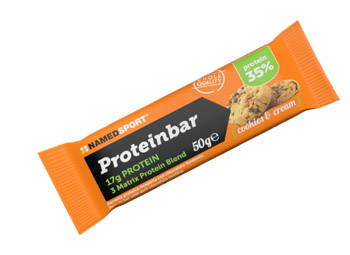 Proteinbar Cookies & Cream 50 g - Farmalilla