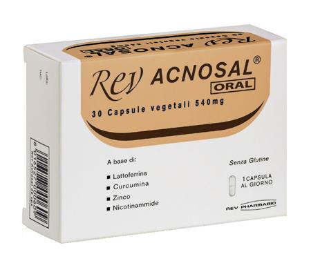 REV ACNOSAL ORAL 30 CAPSULE - farmaciadeglispeziali.it