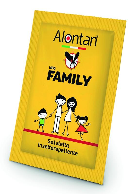 ALONTAN NEO FAMILY SALVIETTE 12 PEZZI ICARIDINA 10% - pharmaluna