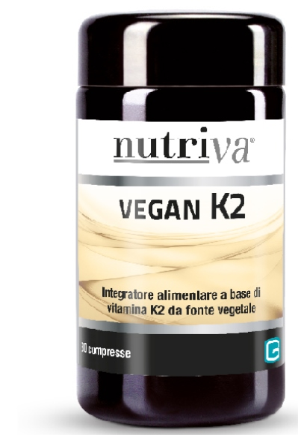 Nutriva Vegan K2 30 Compresse - latuafarmaciaonline.it