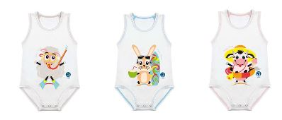 BODY 0 36 MESI FRESCO COTONE SUMMER MUCCHINA - Farmabellezza.it