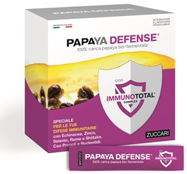 Zuccari Papaya Defense 30 Bustine - latuafarmaciaonline.it