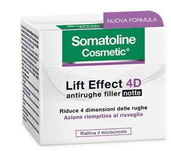 SOMATOLINE COSMETIC VISO 4D FILLER NOTTE 50 ML - Farmastop