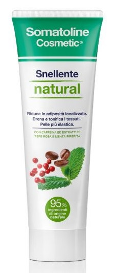 SOMATOLINE COSMETIC SNELLENTE NATURAL GEL 250 ML - Farmabellezza.it