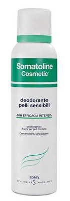 SOMATOLINE COSMETIC DEODORANTE PELLI SENSIBILI SPRAY 150 ML - Farmaunclick.it