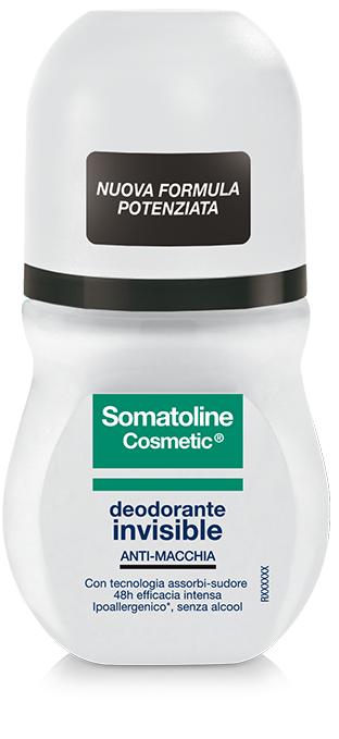 SOMATOLINE COSMETIC DEODORANTE INVISIBILE ROLL ON DUO 2 X 50 ML