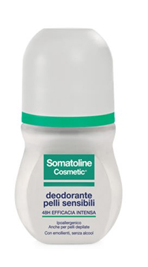 SOMATOLINE COSMETIC DEODORANTE PELLI SENSIBILI ROLL ON 50 ML - Farmaunclick.it