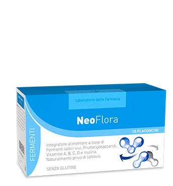 LABORATORIO DELLA FARMACIA NEOFLORA 10 FLACONCINI LINEA FERMENTI - Antica Farmacia Del Lago