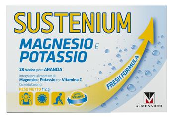 SUSTENIUM MAGNESIO POTASSIO 28 BUSTINE 112 G PROMO - Farmaunclick.it