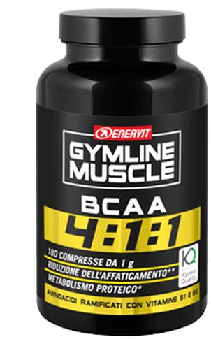 GYMLINE MUSCLE BCAA 4:1:1 KYOWA QUALITY COMPRESSE 180 COMPRESSE 180 G - Farmia.it