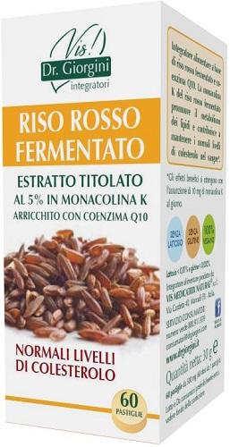RISO ROSSO FERMENTATO ESTRATTO TITOLATO 60 PASTIGLIE - FARMAEMPORIO