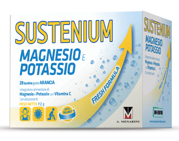 SUSTENIUM MAGNESIO E POTASSIO 28 BUSTE - Farmafamily.it