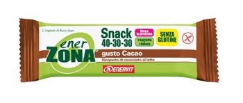 ENERZONA SNACK CIOCCOLATO 1 BARRETTA NUOVA FORMULA - Farmacia Massaro