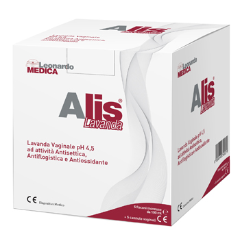 ALIS LAVANDA VAGINALE 5 FLACONI DA 100 ML + 5 CANNULE - Sempredisponibile.it