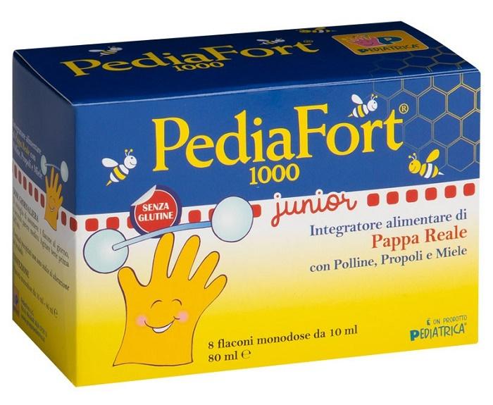 PEDIAFORT 1000 8 FLACONCINI 10 ML - Parafarmacia la Fattoria della Salute S.n.c. di Delfini Dott.ssa Giulia e Marra Dott.ssa Michela