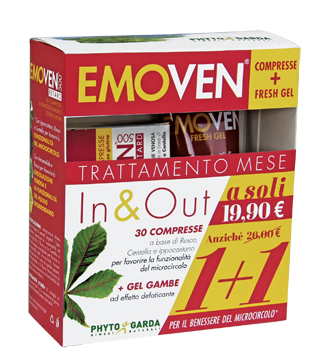 EMOVEN KIT 1 FRESH GEL + 30 COMPRESSE - Farmajoy