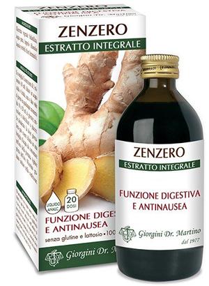 ZENZERO ESTRATTO INTEGRALE 200 ML - Farmacia Centrale Dr. Monteleone Adriano