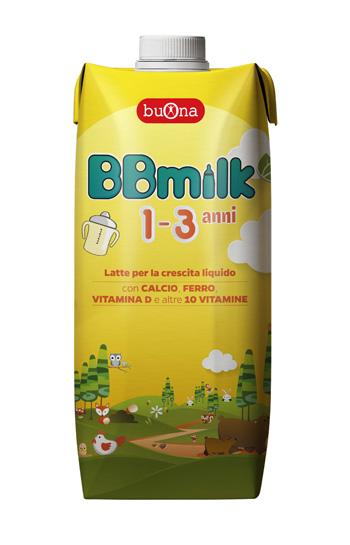 BBMILK 1-3 LIQUIDO 500 ML -
