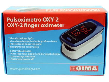 PULSOXIMETRO DA DITO OXY-2 SCHERMO LED 60X30,5X32,5MM 1 PEZZO - Farmacia Massaro