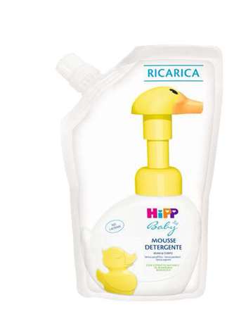 HIPP RICARICA MOUSSE DETERGENTE 250 ML - Farmajoy