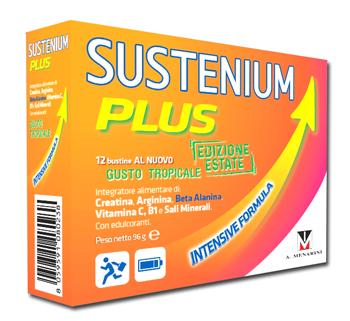 SUSTENIUM PLUS EDIZIONE ESTATE GUSTO TROPICALE 12 BUSTINE 8 G - Farmabros.it