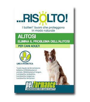 PETFORMANCE ALITOSI RISOLTO CANE 50 ML - Farmawing