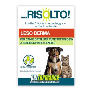 Petformance Leso Derma Risolto per Cane e Gatto 50ml