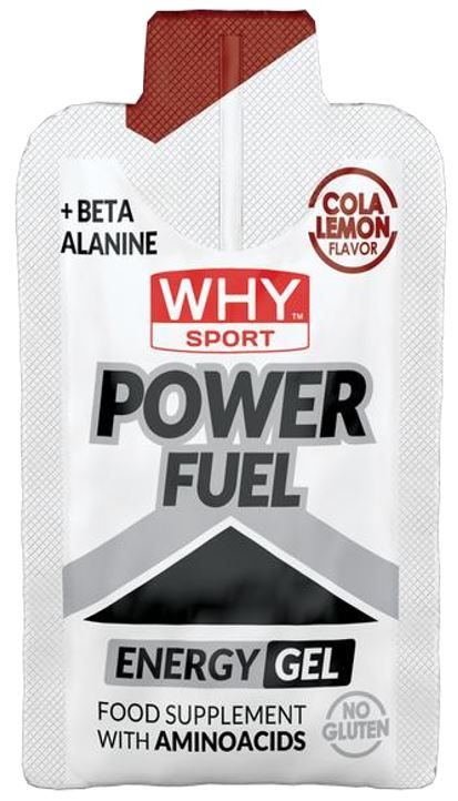 WHYSPORT POWER FUEL COLA LIMONE 55 G - Farmastop