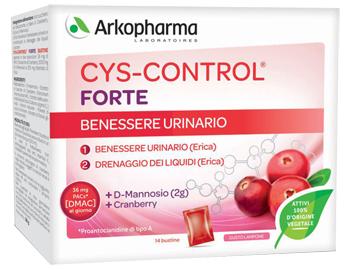 CYS-CONTROL FORTE CON D-MANNOSIO 14 BUSTINE 56 G GUSTO LAMPONE - La farmacia digitale