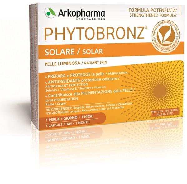 PHYTOBRONZ 30 PERLE 19 G - Farmacia 33