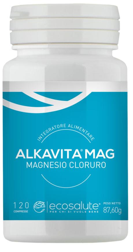 ALKAVITA MAG MAGNESIO CLORURO 120 COMPRESSE - Farmastar.it