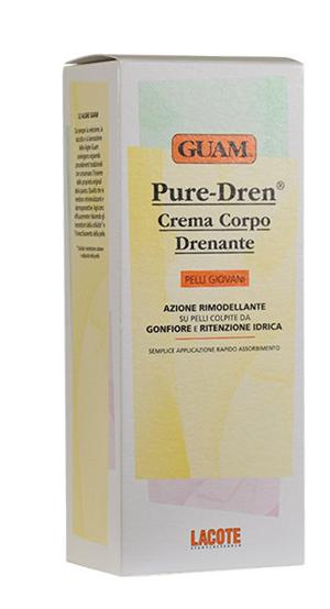 GUAM PURE-DREN CREMA CORPO DRENANTE 150 ML - Parafarmaciaigiardini.it