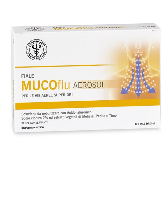 LFP MUCOflu Aerolsol Soluzione Ipertonica 10 Fiale - Arcafarma.it