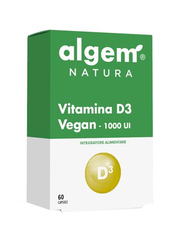 VITAMINA D3 VEGAN 1000 UI 60 CAPSULE - Farmaseller