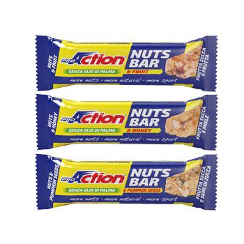 PROACTION NUTS BAR FRUTTA 30G prezzi bassi
