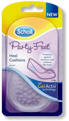 PLANTARE ORTOPEDICO SCHOLL PARTY FEET GEL ACTIVE TALLONE - Carafarmacia.it