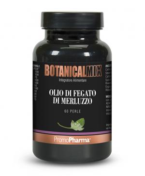 OLIO DI FEGATO DI MERLUZZO BOTANICAL MIX 60 PERLE - Farmaseller
