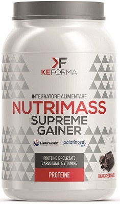 NUTRIMASS SUPREME GAINER DARK CHOCOLATE 1,5 KG - Farmapage.it